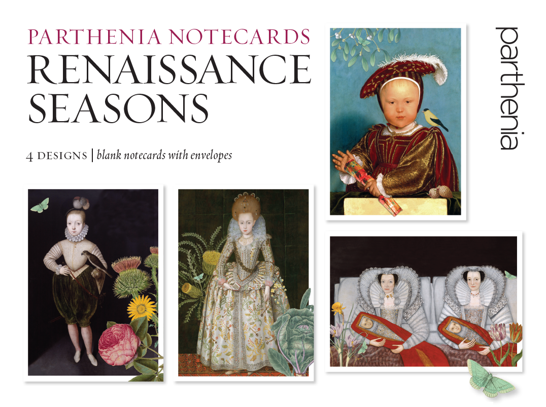 Parthenia Notecards